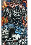 Skateboard Size 8″ OEM Graffiti