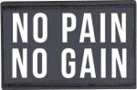 "Patch ""No pain no gain"" 